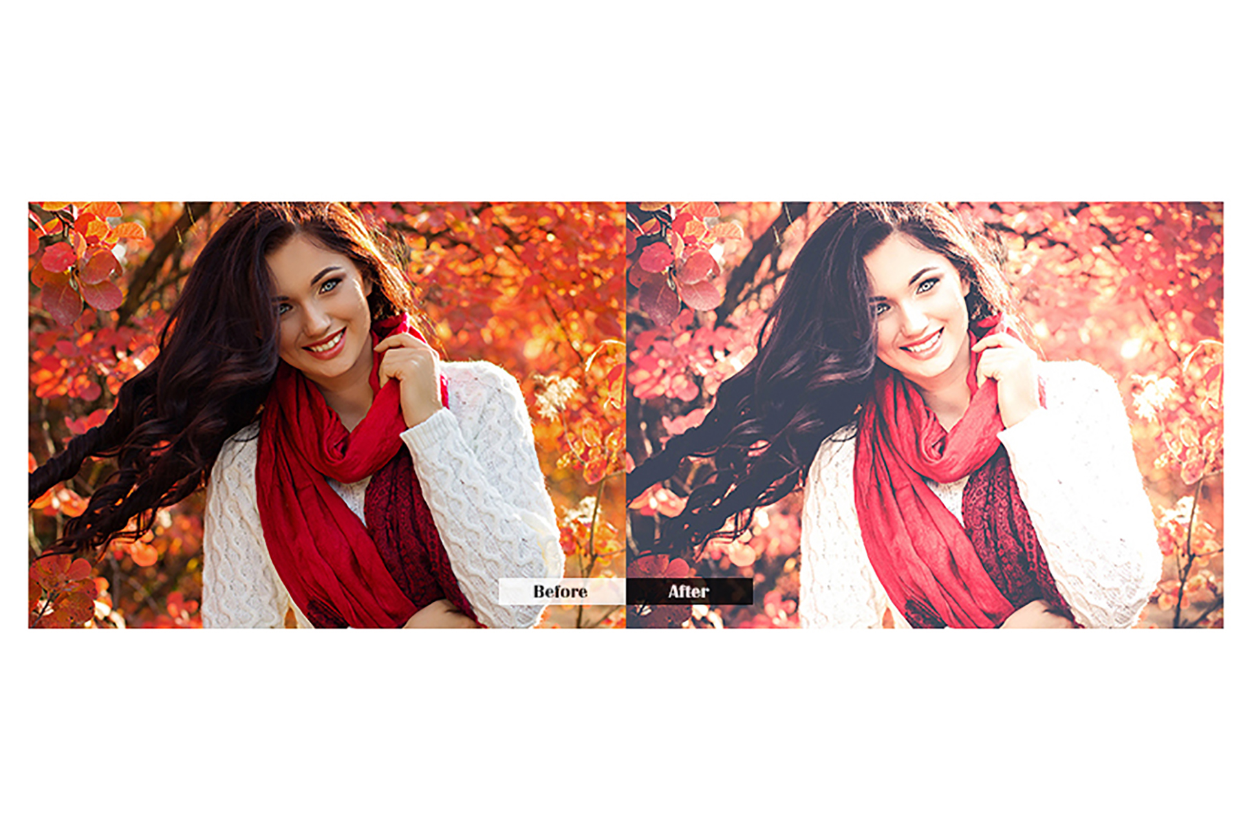 Autumn Lightroom Mobile Presets example image 4