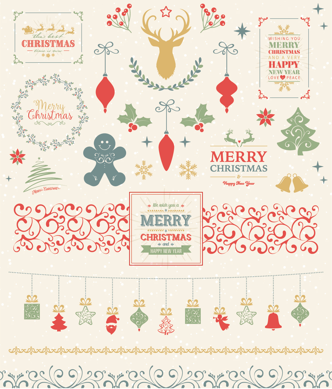 Ultimate Vector Christmas Collection example image 5