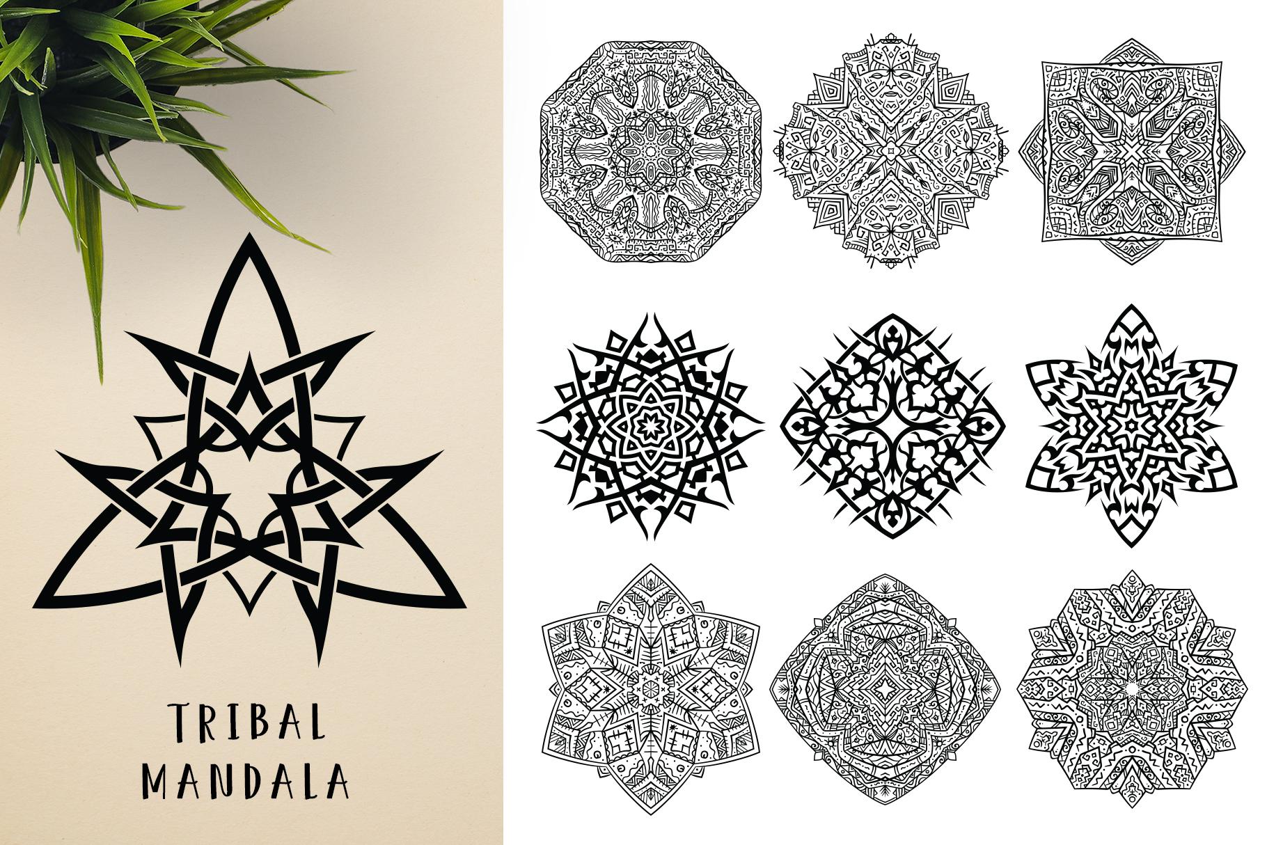 300 Vector Mandala Ornaments example image 24