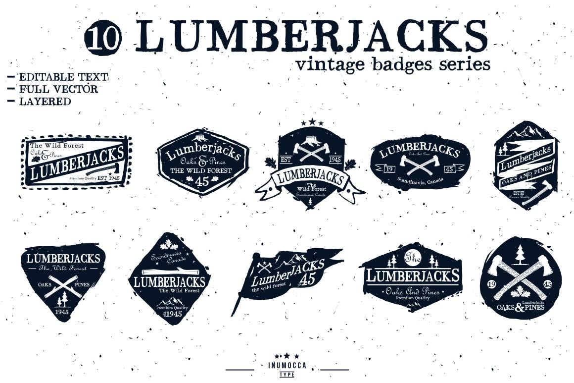 BIG BUNDLE Vintage Badges example image 16