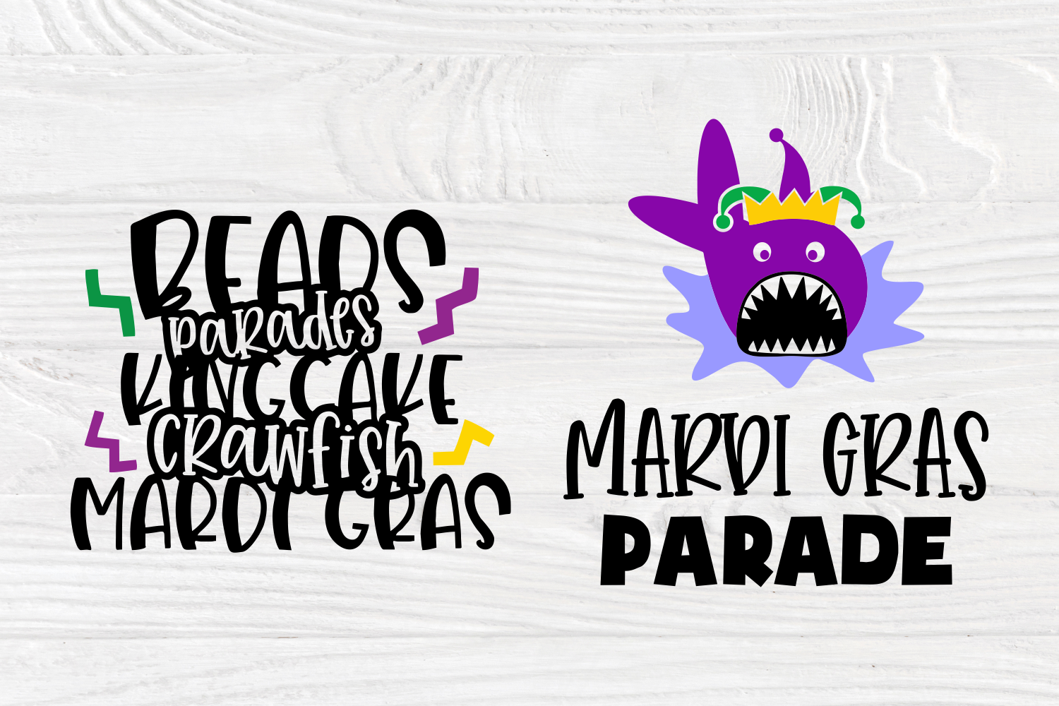 Mardi Gras Quotes | Cut Files for Crafters | Mardi Gras SVG example image 6