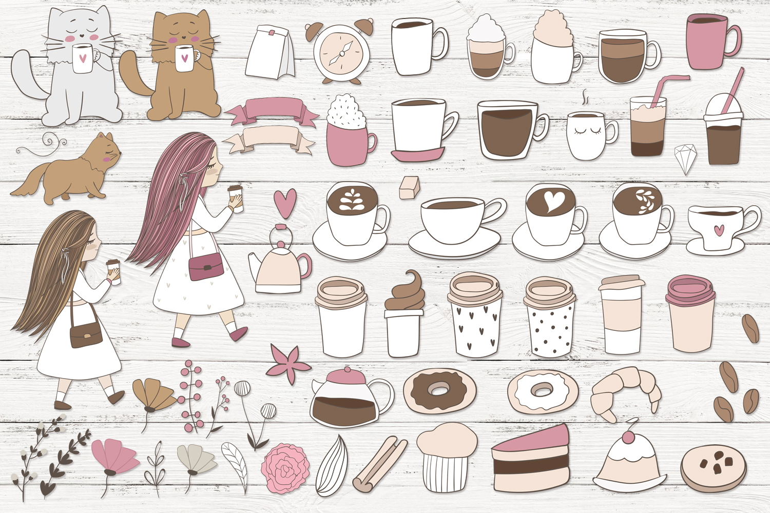 Cute coffee clipart example image 2
