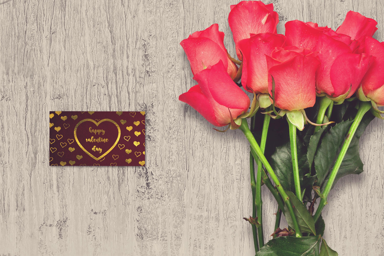 Valentine Card Mock-up #30 example image 1