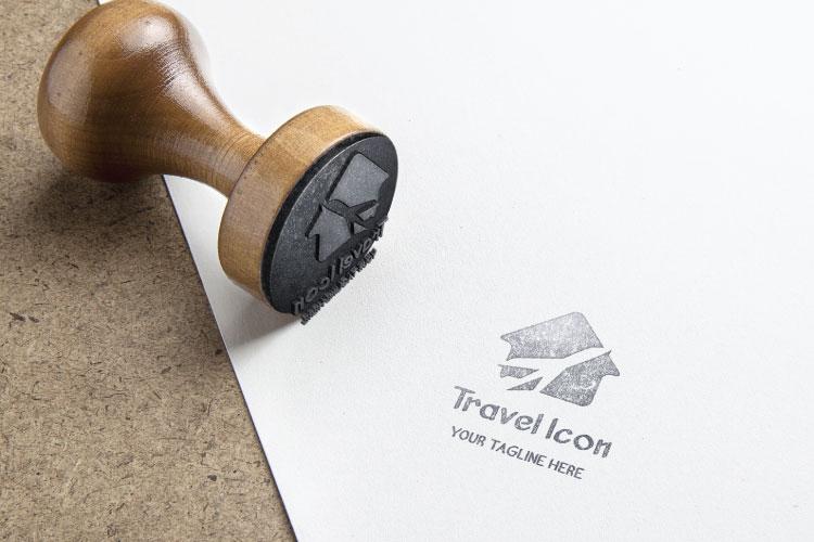 Flat Travel Logo Design example image 4