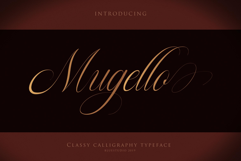 Mugello // Classy Calligraphy example image 10