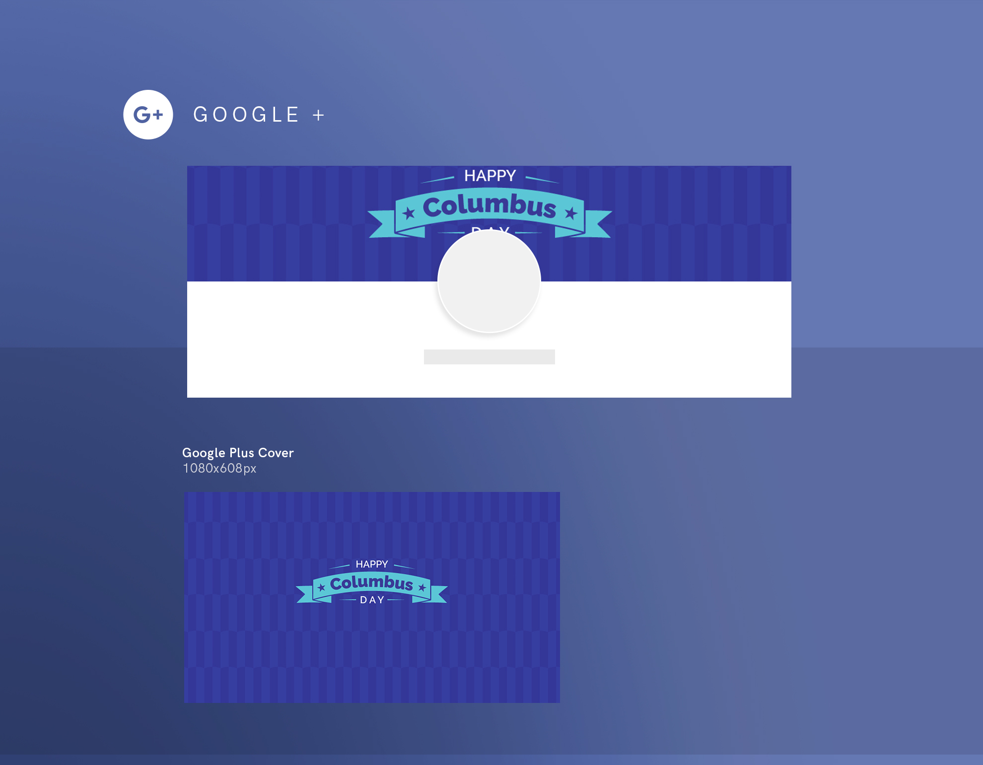 Columbus Day Party Design Templates Bundle example image 8