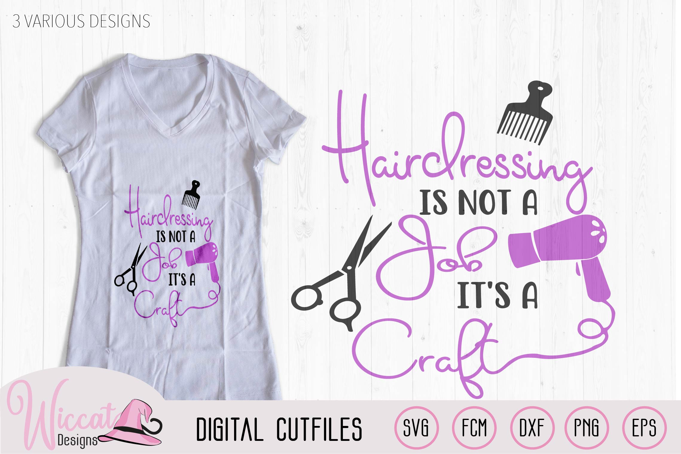 Hairstylist quote bundle, Hairdresser pun, Stylist word art example image 3