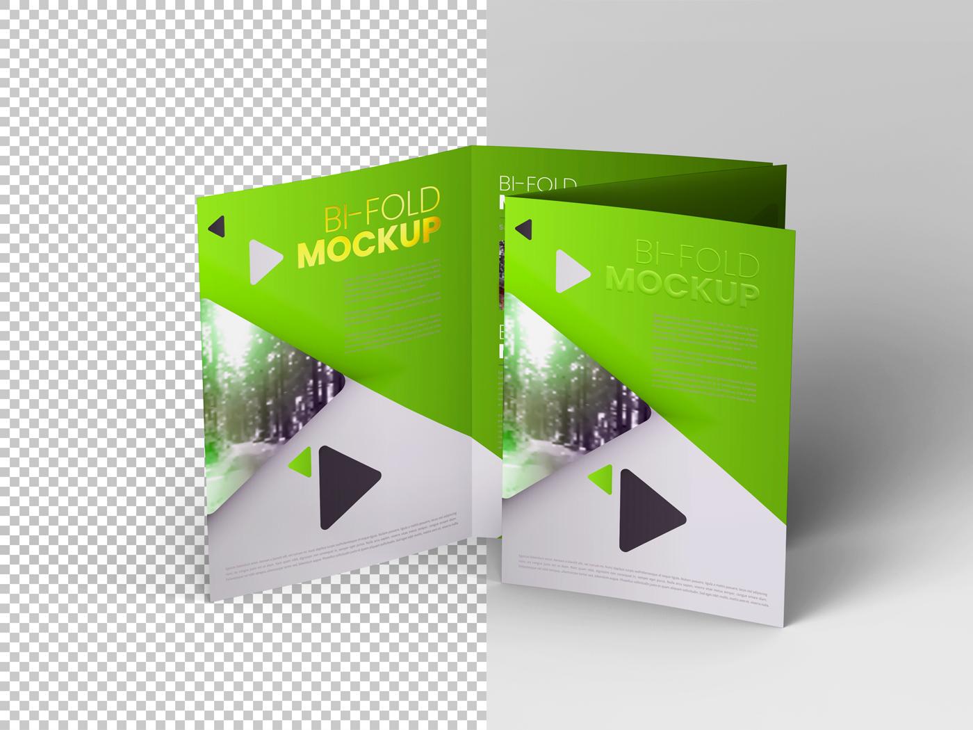 A4 Bifold Mockups V3 example image 21