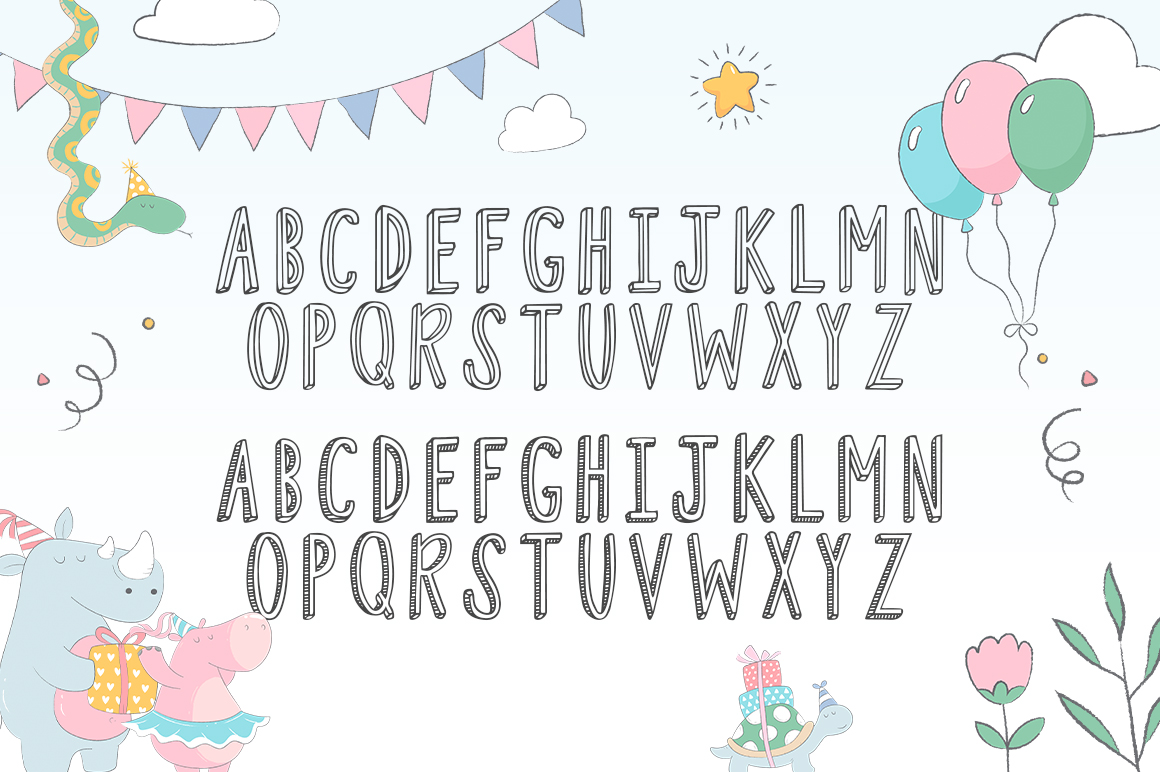 Fiesta Font Duo example image 5