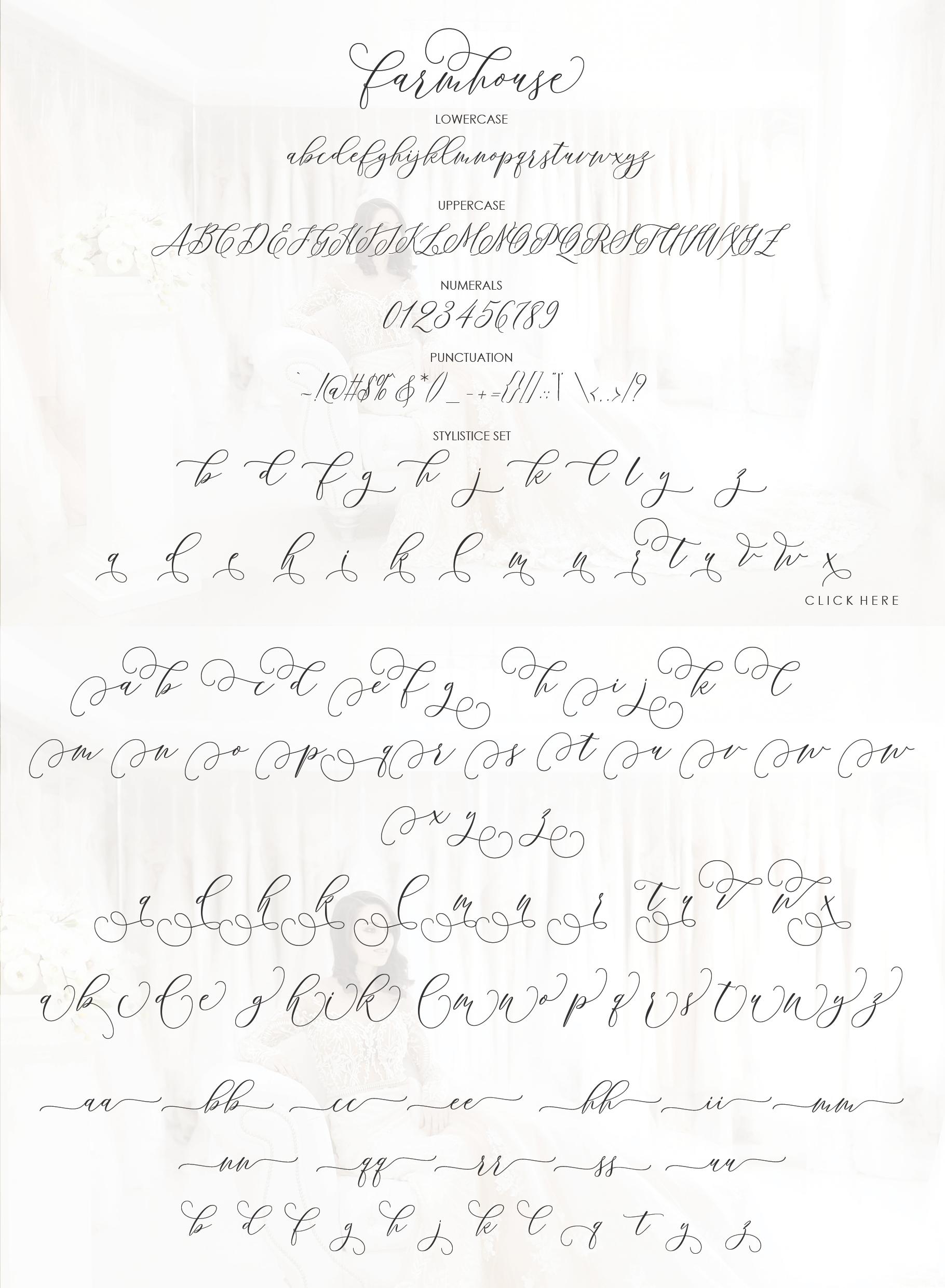 Farmhouse Script example image 11