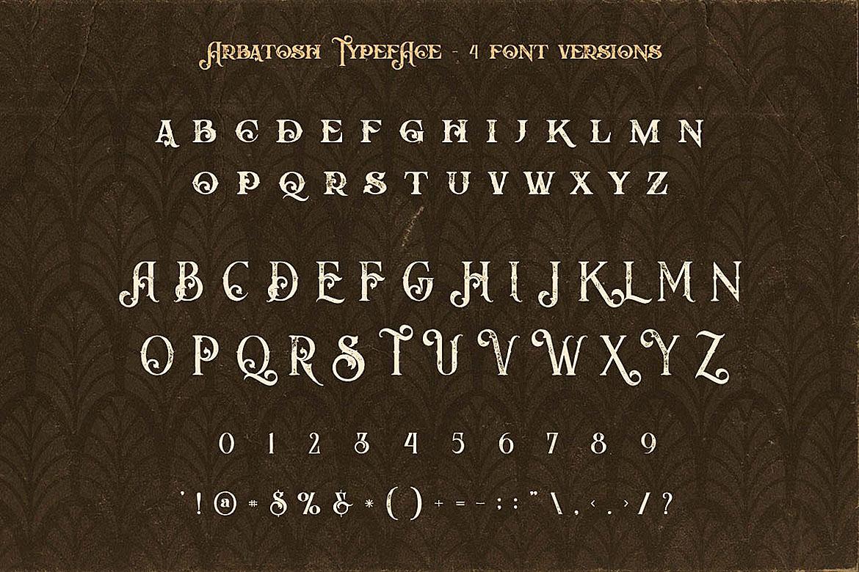 Arbatosh - Display Font example image 6