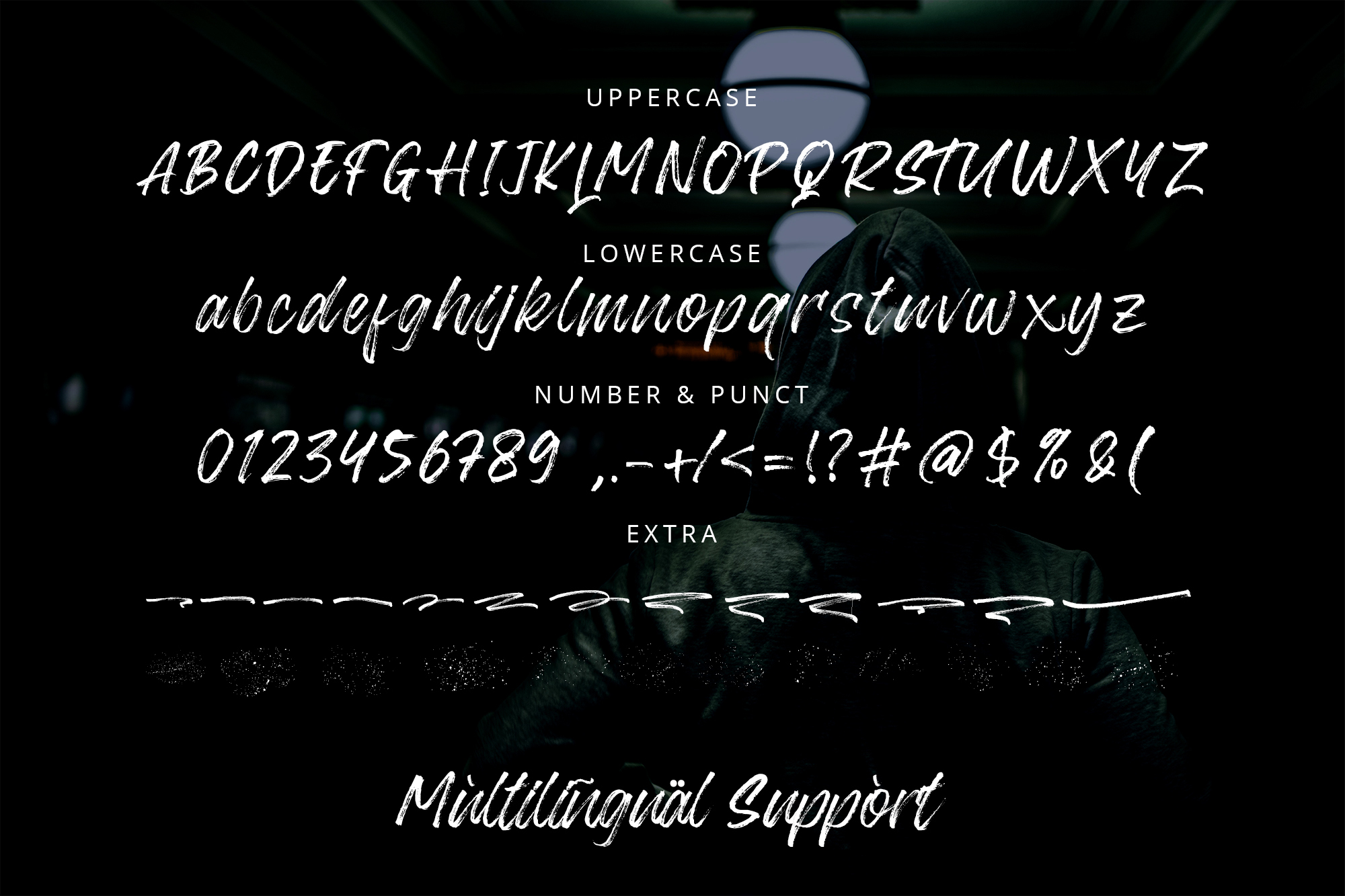 Blackway - Handbrush Font example image 5