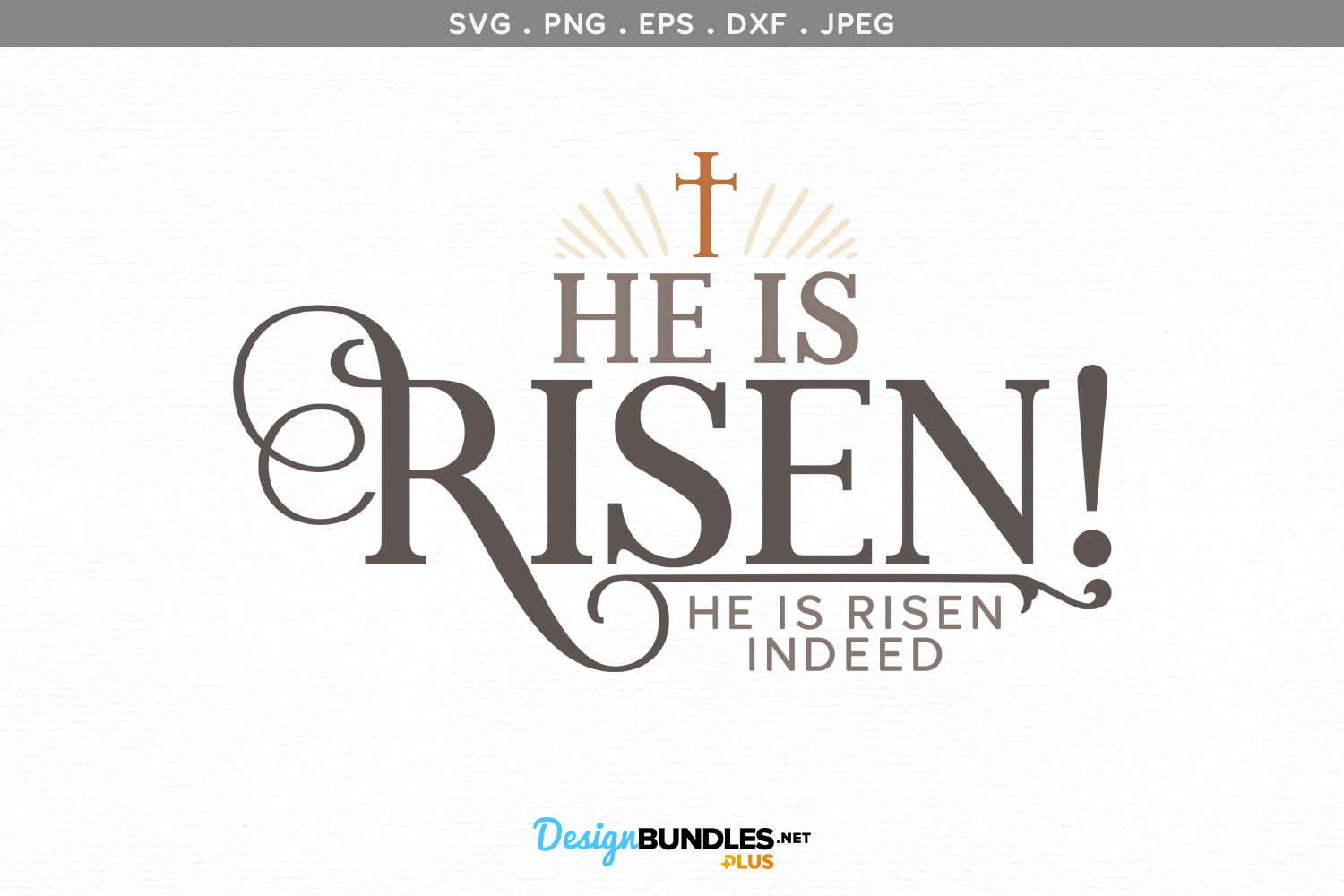 photo relating to He is Risen Printable referred to as He is Risen! He is Risen In fact - svg minimize report printable