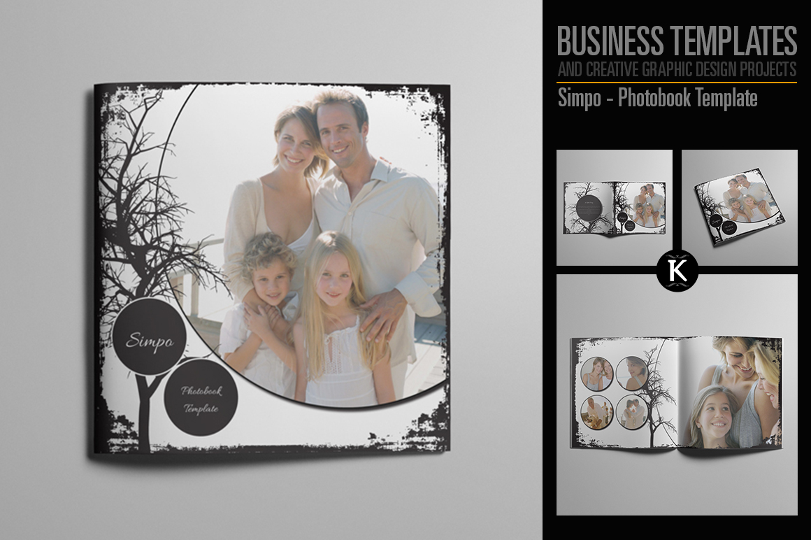 Simpo - Photobook Template example image 1
