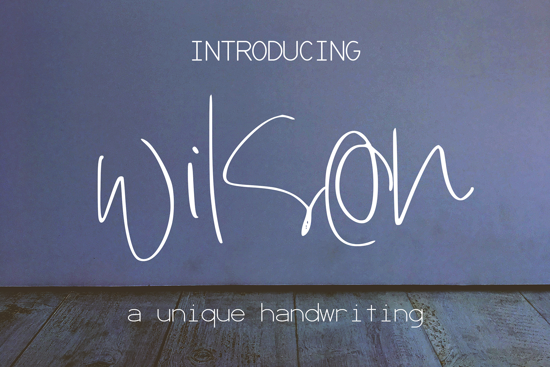 Wilson Font example image 1
