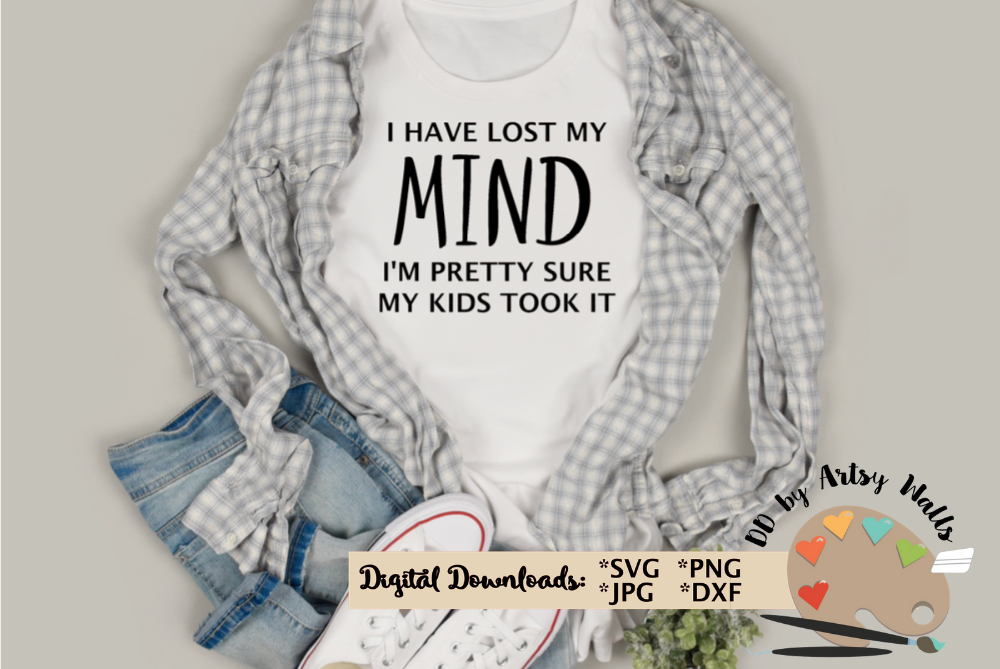 funny mom svg, mom life, diy funny mom quote shirt svg dxf example image 1