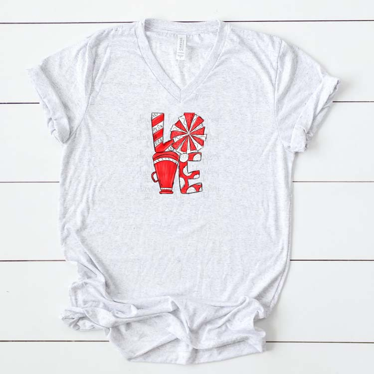 Cheer Love Powder Red and White example image 2