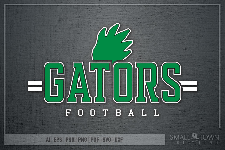 Gator Football Team, Gators Claw Print, PRINT, CUT & DESIGN example image 5