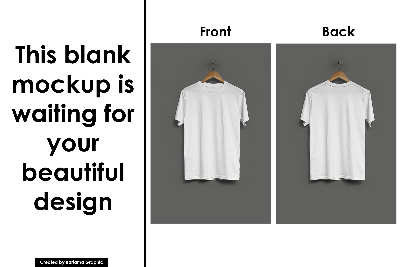 Hanging T-shirt Mockup example image 4