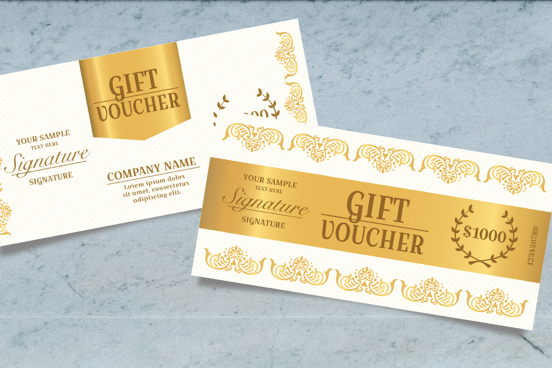 Exclusive Gift Voucher Template example image 5