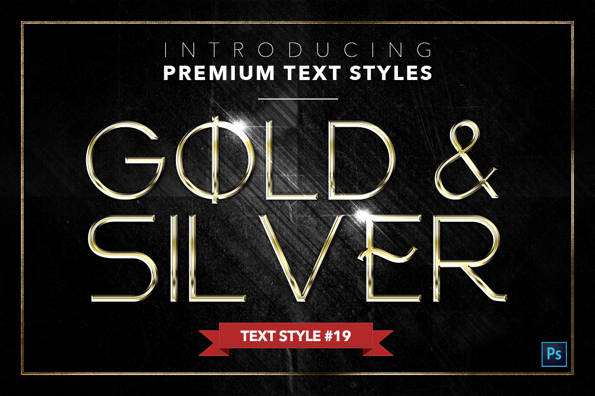 Gold & Silver #4 - 20 Text Styles example image 6