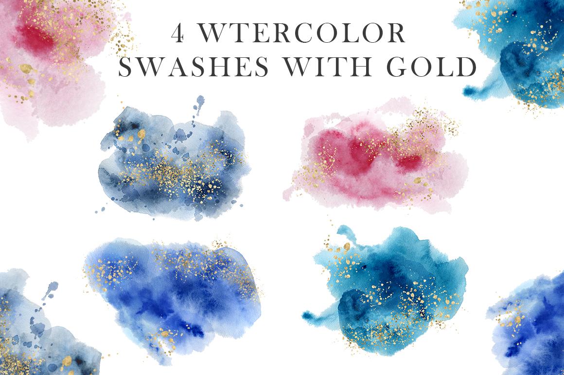 Ocean watercolor collection example image 6