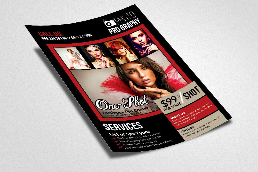 Photography Flyer Template example image 2