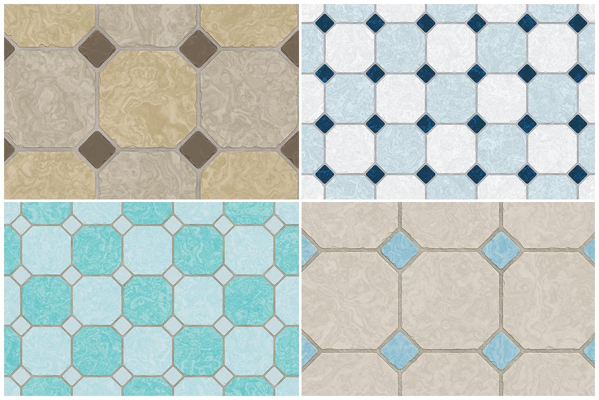 10 Classic Floor Tile Textures example image 2