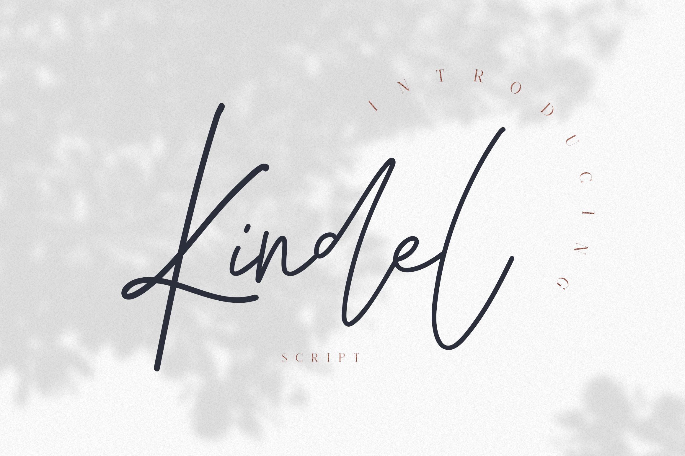 Kindel Script example image 1