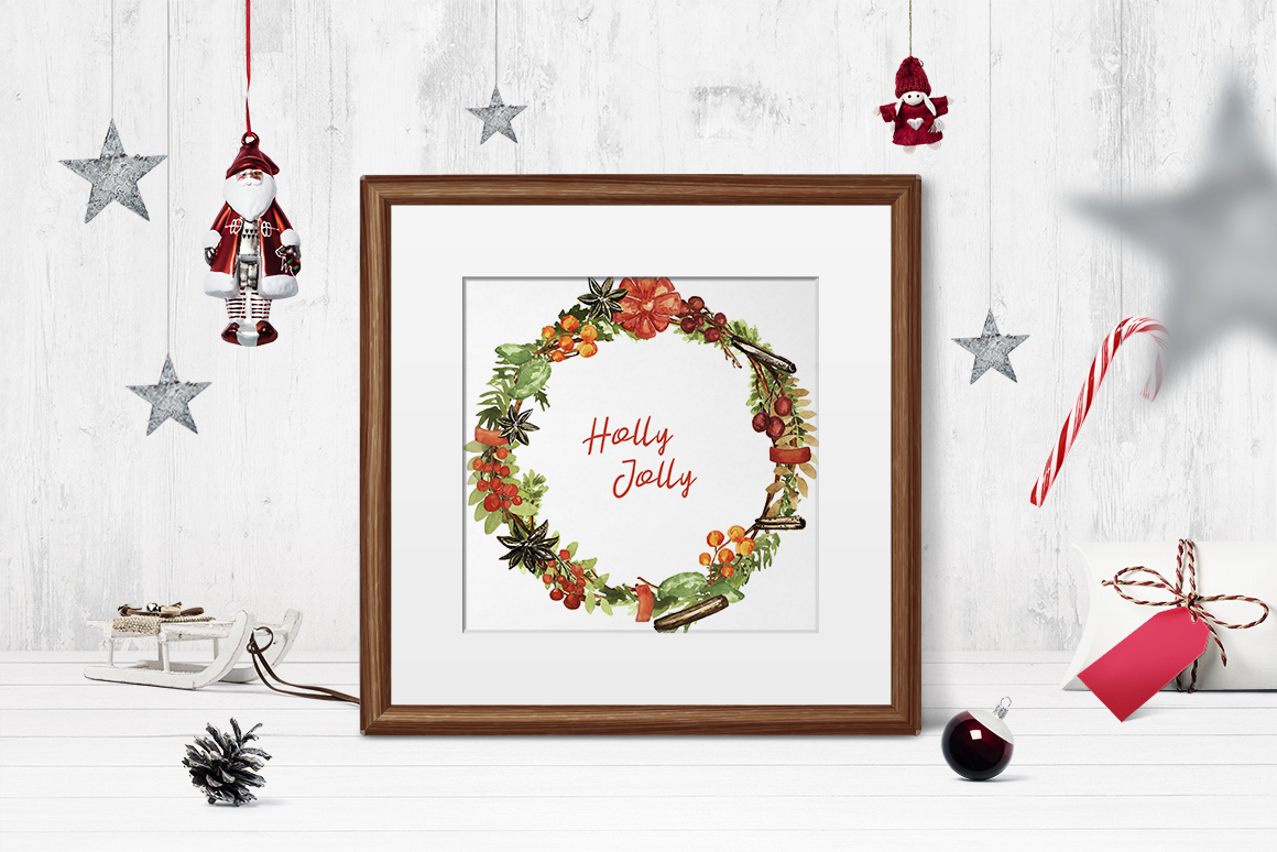 Christmas Wreath Creator example image 4