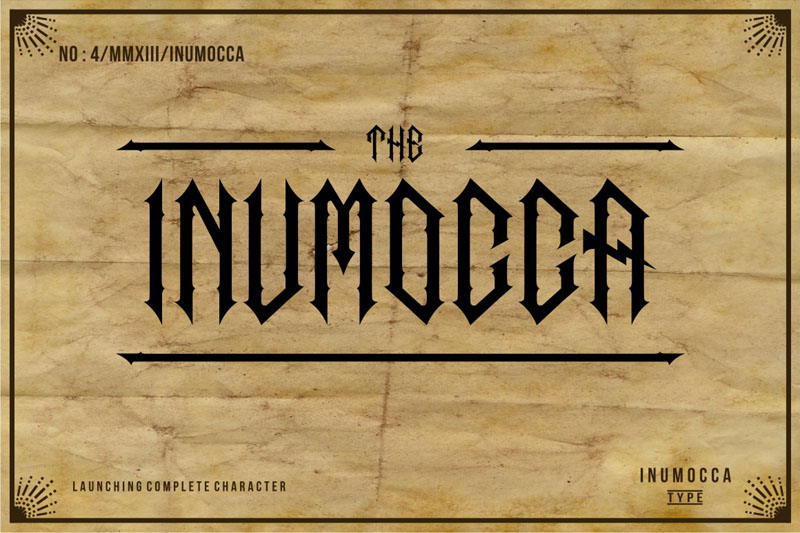 The Inumocca complete example image 1