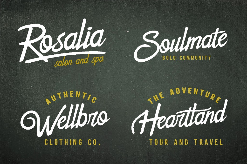 The Sweetland Typeface Font Duo example image 5