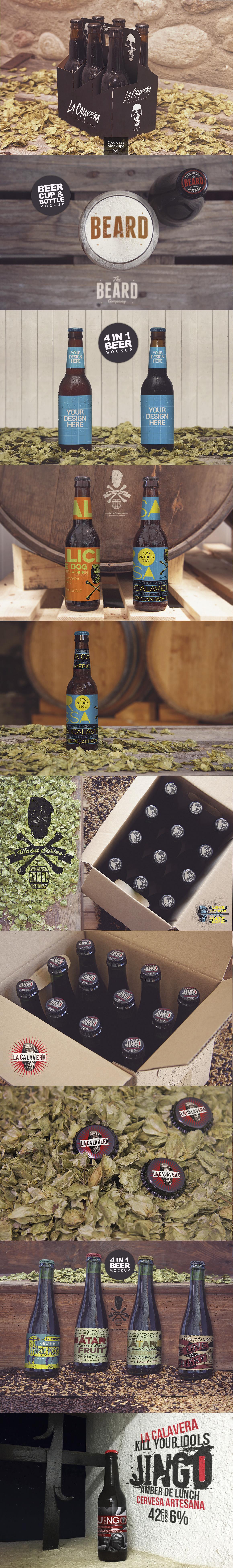 50 Beer Mockups Bundle 85 OFF example image 7