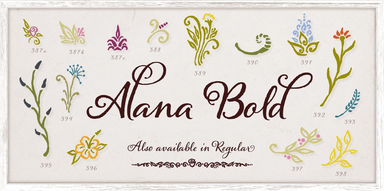 Alana Regular example image 2