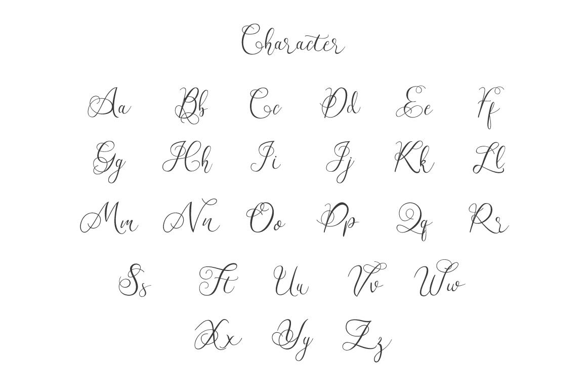 Workaholic Typeface example image 5