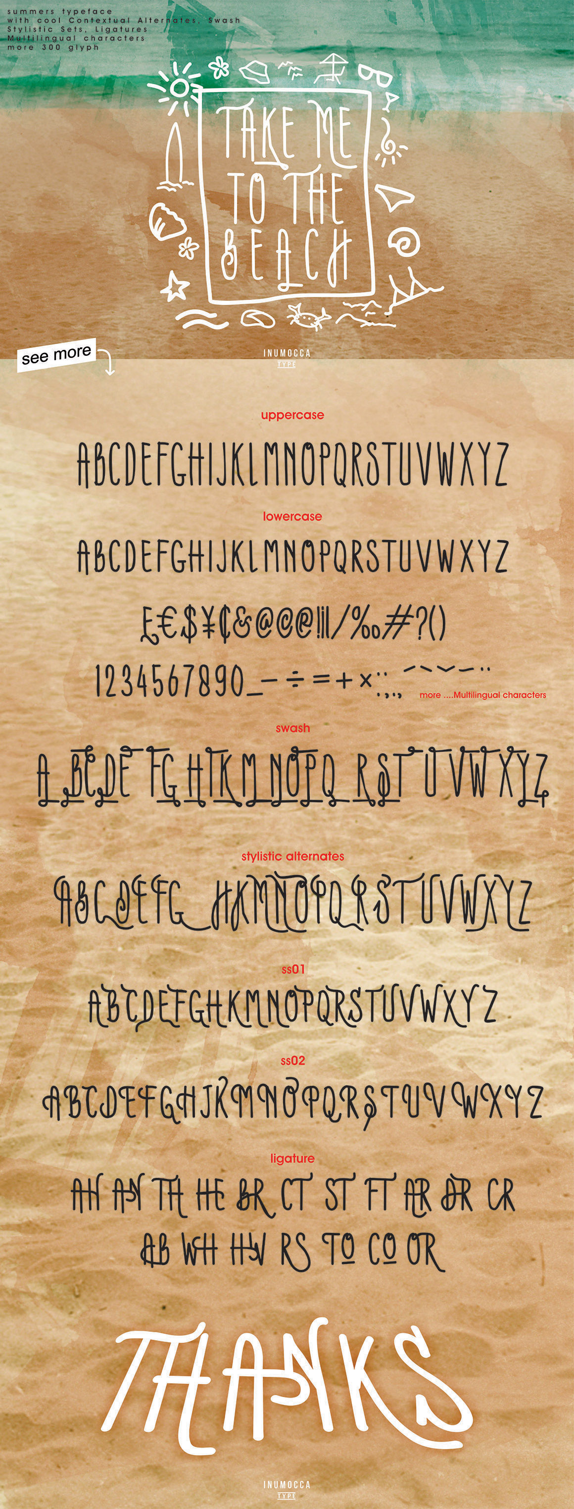Summers Typeface example image 3