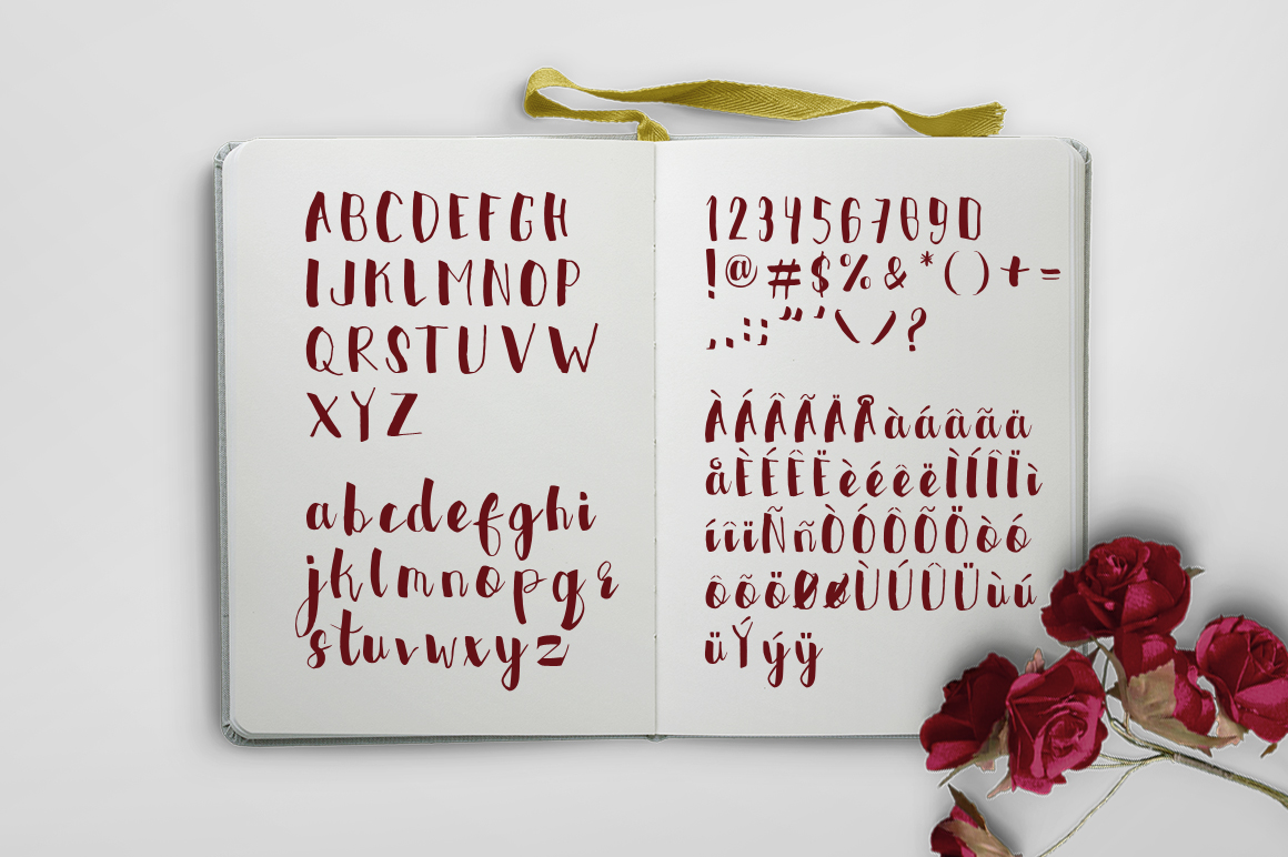 FaerieFire Typeface example image 2