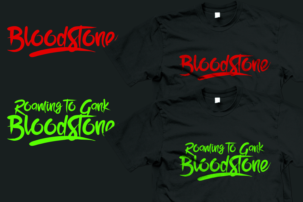 BloodStone Typeface example image 4