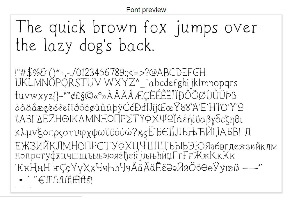 Zoe Handwritten Font example image 2