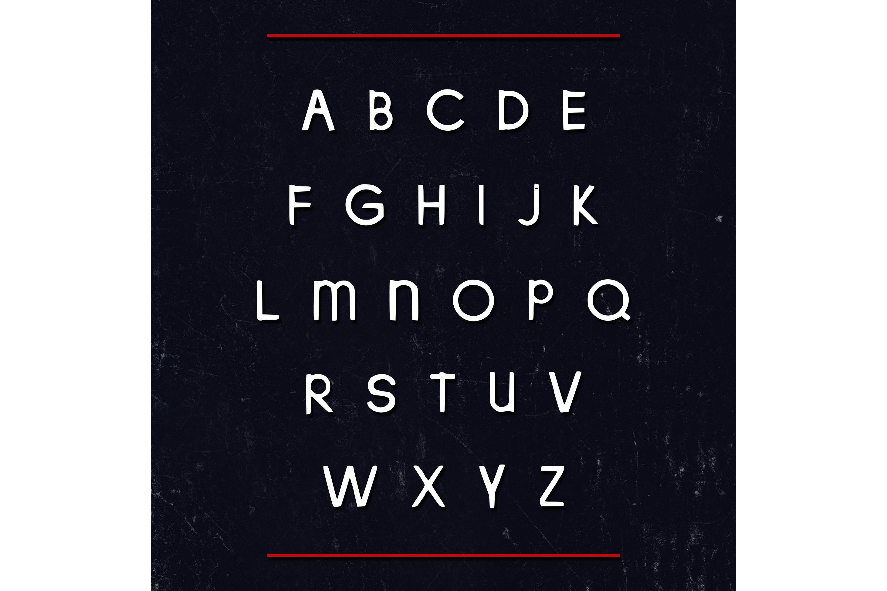 Korra Typeface example image 3
