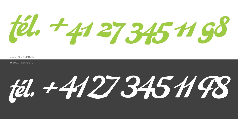 Martinaz typeface layout 3