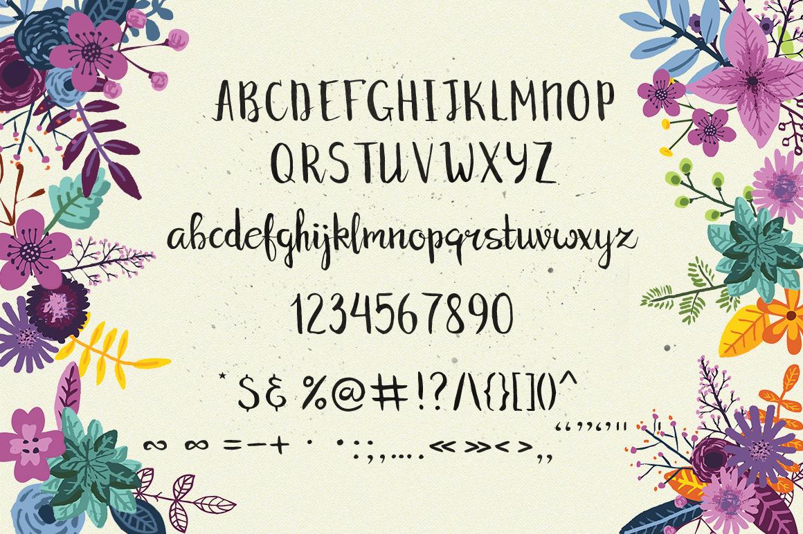 Jennifer's Flowers Script example image 2