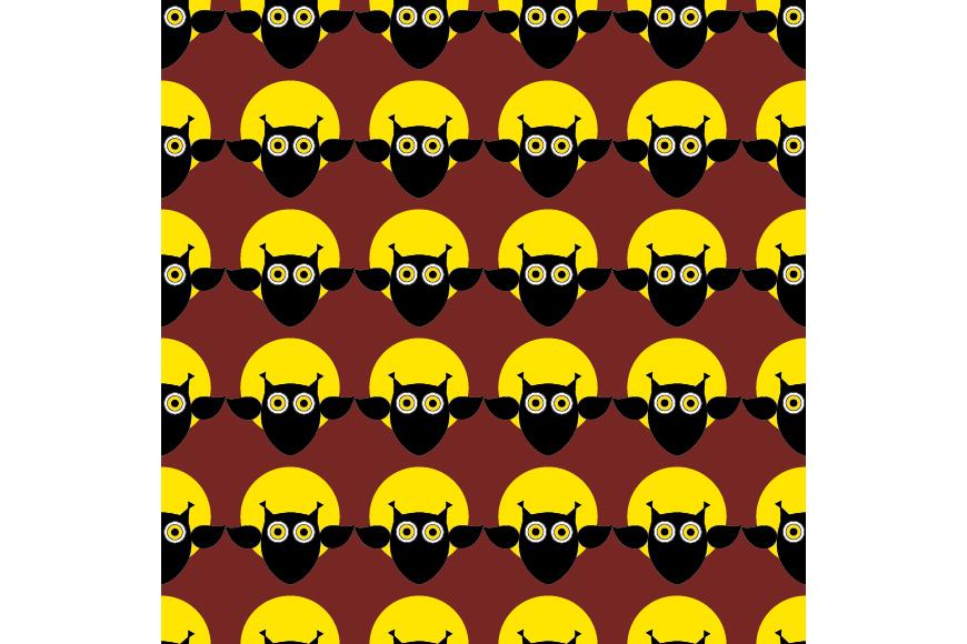 Set of 12 seamless vector backgrounds Happy Halloween.  example image 11