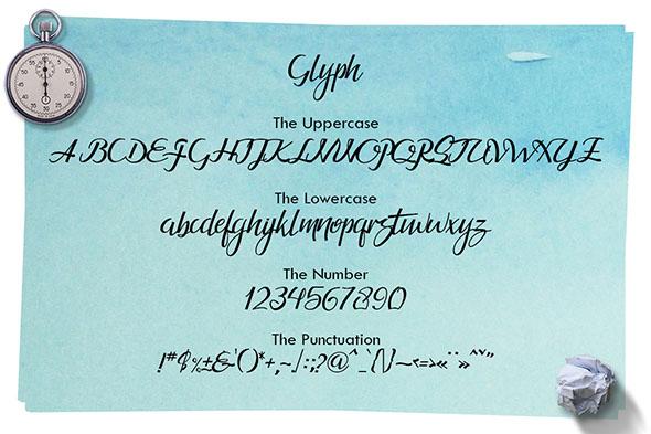 Guarddilla Typeface example image 4