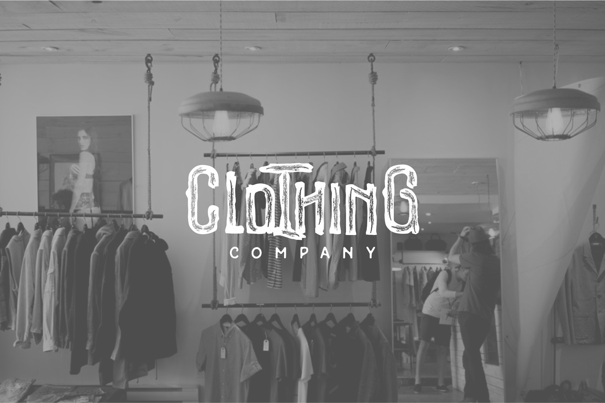 Woodystone Clothing Typeface