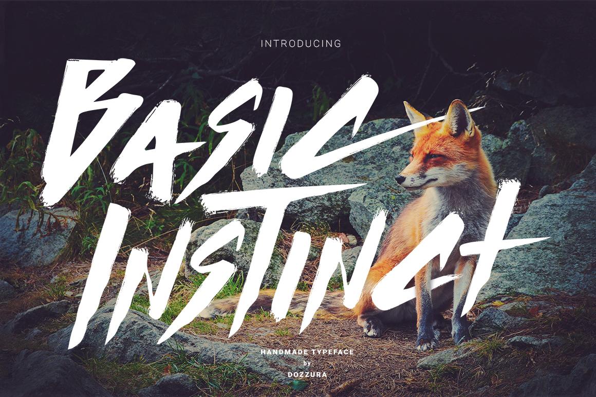 Basic Instinct Typeface example image 1