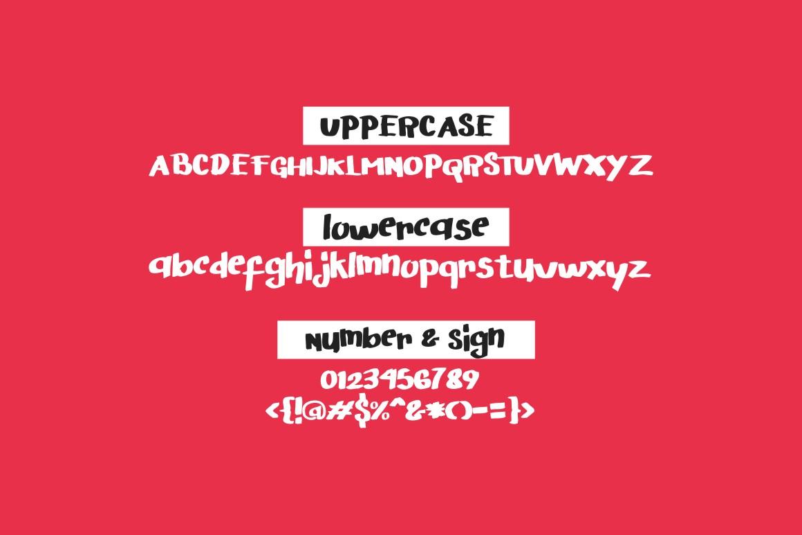 Arigato Handwritten Font - Feature