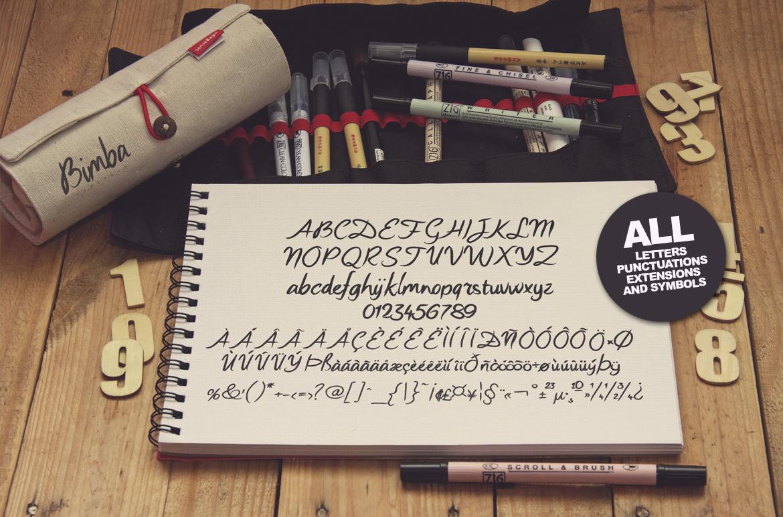Bimba Typeface example image 4