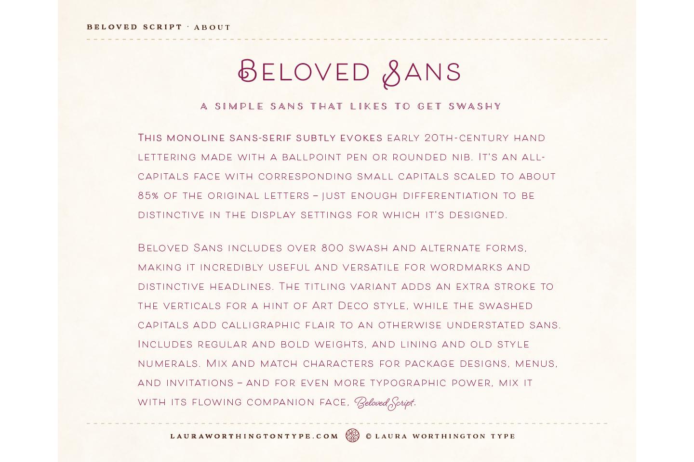 Beloved Sans