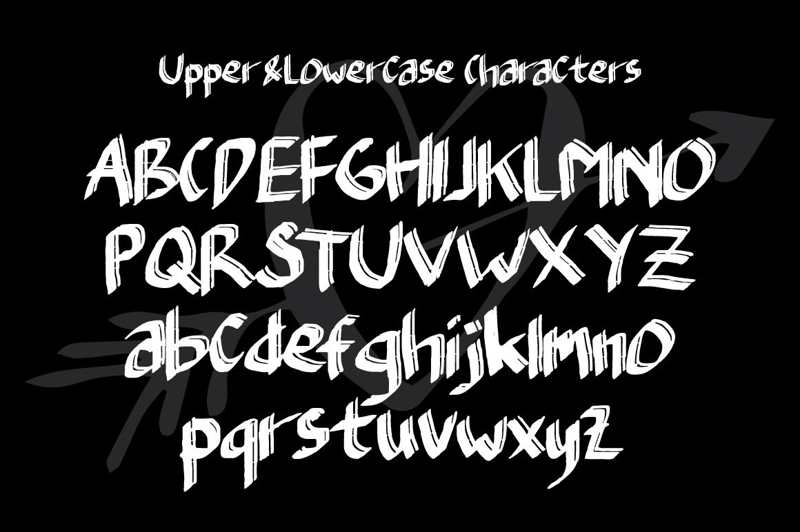 Typefloss Handmade Typeface example image 5